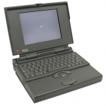 When we started in 1995, this MacBook laptop was state-of-the-art.